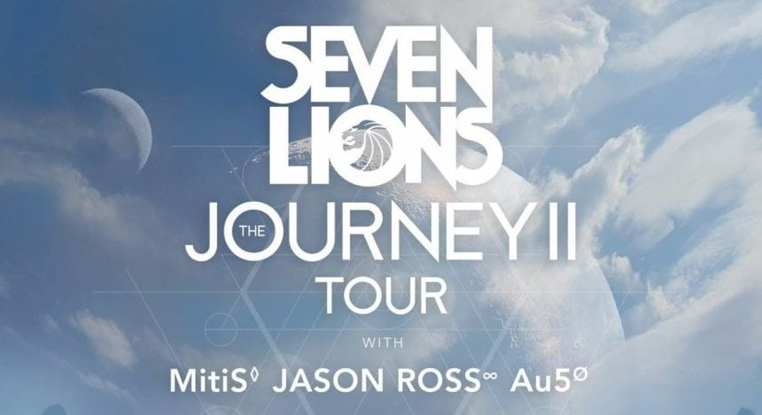 Au5 selected to join Seven Lions on select dates of his upcoming Journey 2 Tour